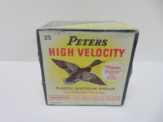 "Peters High Veloctiy plastic shotgun shells, 3"" magnum, 12 GA"