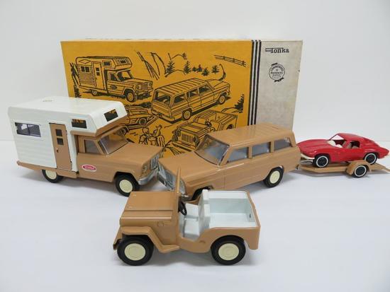 Mini Tonka #102 Sportsman Set complete in box