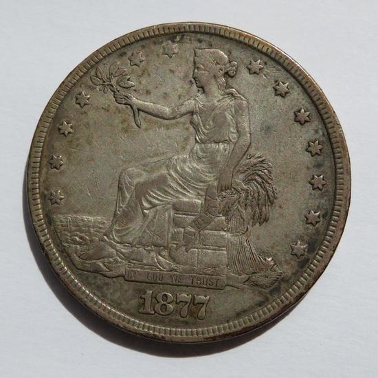 1877 United States Trade Dollar
