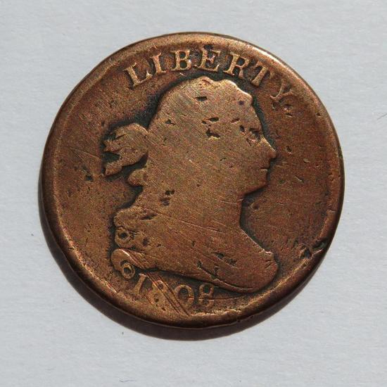 1808 Half Cent