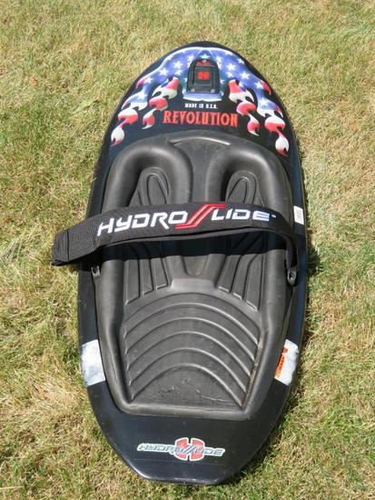 Hydro Lide Revolution knee board, no fin, trick board