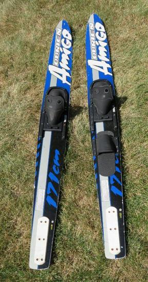 O'Brien Amigo water skis 171 cm