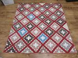 Vintage patchwork quilt, 72