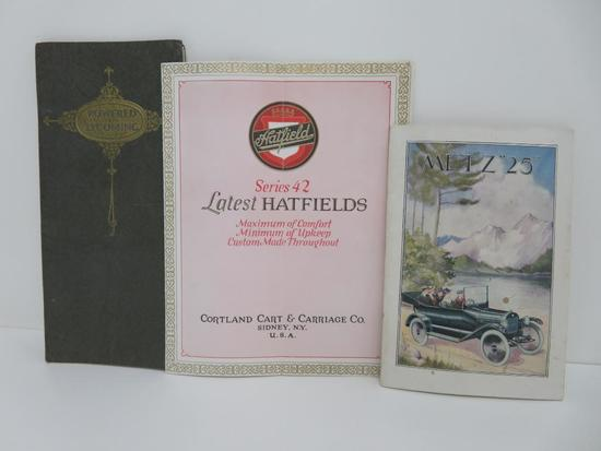Vintage Automobile booklets