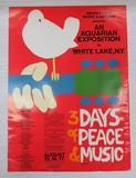 Authentic Original Woodstock Poster, 18