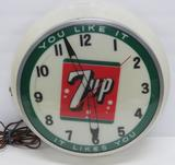 7 Up light up clock, You like it It likes You, 16