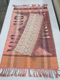Woven rug and runner