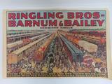 Vintage Circus Poster, Ringling Bros Barnum & Bailey, 36