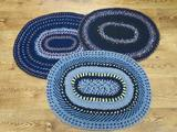 3 Four strand braided rugs