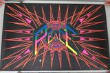 Large Black light PEACE poster, Arcturus Coma by Tom Korpalski, 43