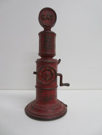 Cast Iron gas pump, 7""