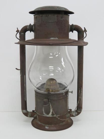 "Dietz Tubular Globe #3 lantern, 20 1/2"""