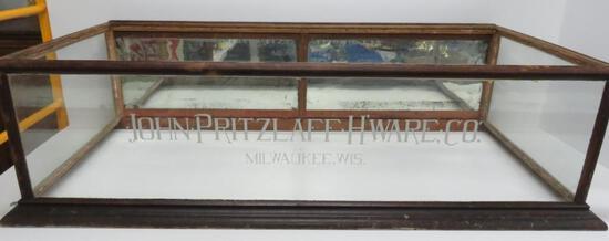 John Pritzlaff H'ware Co Milwaukee Wis table top display cabinet