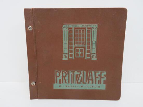 Pritzlaff Milwaukee Wisconsin Hardware Catalog