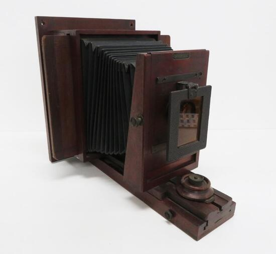 Antique Folmer Schwing Division Studio Camera with Eastman Projection lens and colored filter