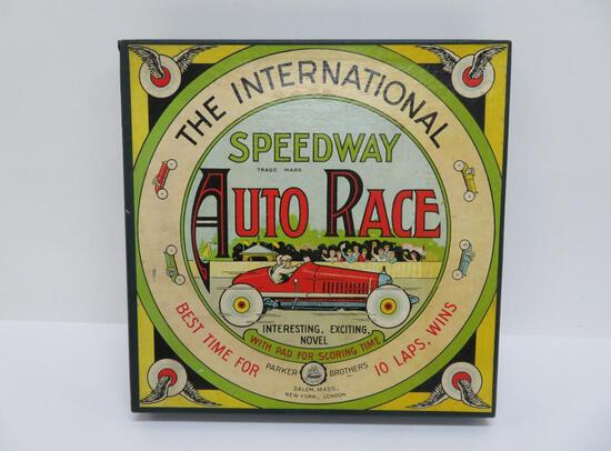 Rare International Speedway Auto Race, Parker Bros, great graphics