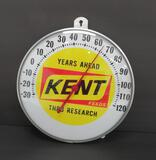 Kent Feeds advertising thermometer, 12