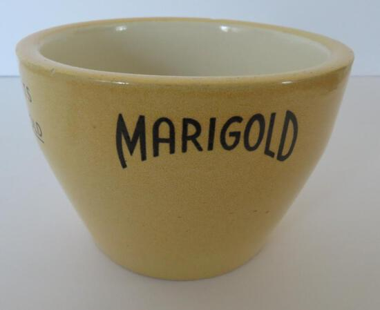 """Red Wing Marigold Whipping Cream Bowl, 4"""""""