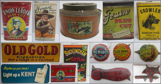 Day 2 of Two Day Auction - Tobacco Advertising