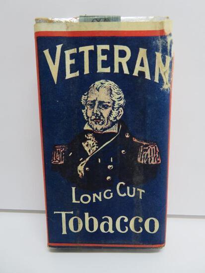 "Vetrean Long Cut Tobacco box with contents, 2 3/4"" x 5"", 1 7/8 oz"