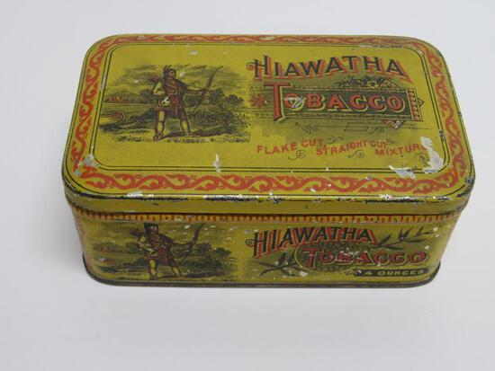 Hiawatha Tobacco, flake cut, straight cut mixture, 4 oz
