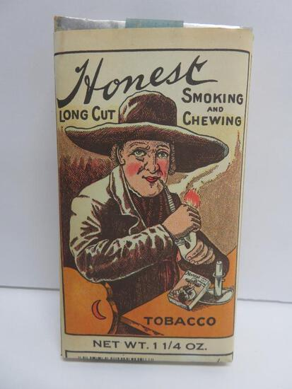 Honest Long Cut smoking and chewing tobacco paper pack, full, 1 1/4 oz