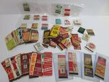 About 147 matchbook covers, advertising