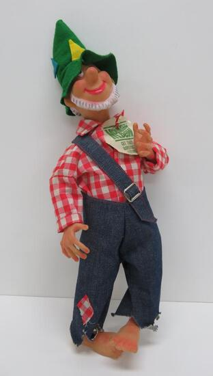 """1969 Mountain Dew, promotional doll, Get that Barefoot Feeling, 21"""""""
