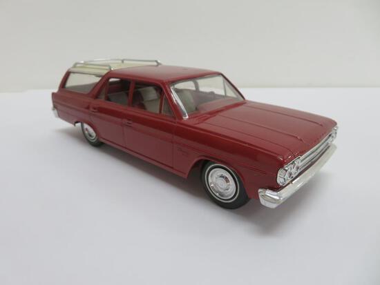 "Plastic Promo car, 1966 Rambler, 8"""