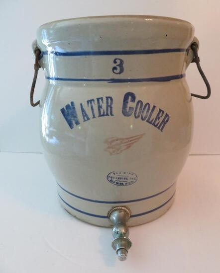 3 Gallon Red Wing Water Cooler