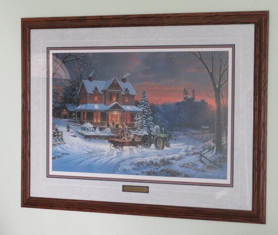 George Kovach, Evening at Holy Hill, signed and numbered 935/2000