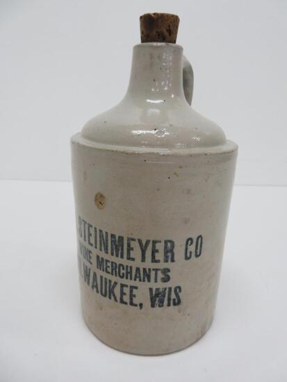 """8"""" WM Steinmeyer Wine Merchants, Milwaukee, Wis"""