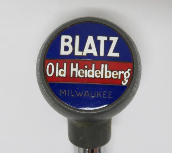 Blatz Old Heidelberg ball knob, beer tap marker