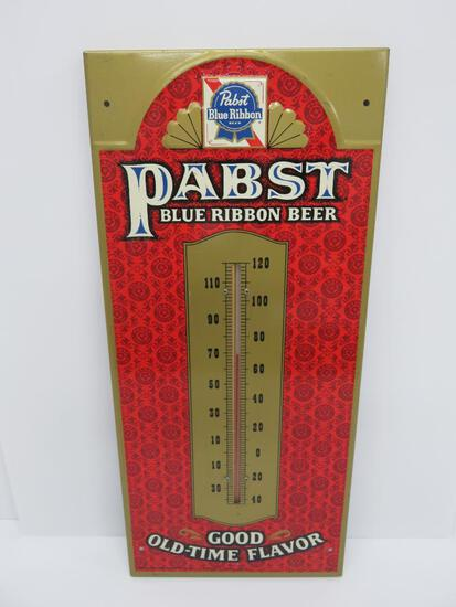 """Pabst Blue Ribbon thermometer, 9"""" x 20 """", -P-760"""