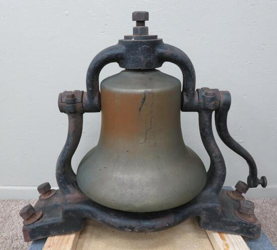 "Great Brass Foundation bell, 31"" x 24"""