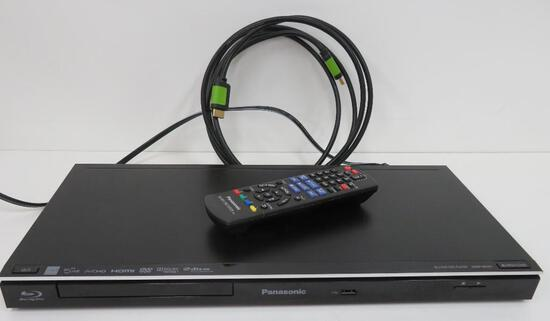 Panasonic Blu-Ray Disc Player, DMP-BD87 with remote
