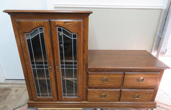 Storage cabinet or entertainment center