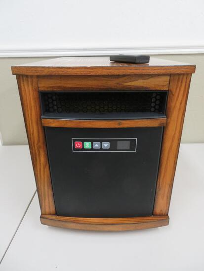Quartz Infrared Zone Heater, works with thermostat