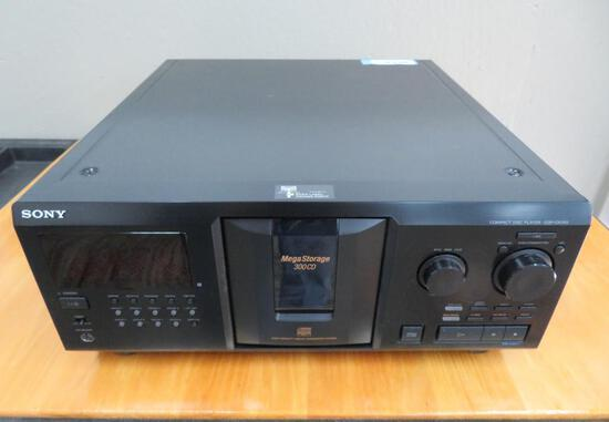 Sony Mega Storage Compact Disc Player, CDP-CX355