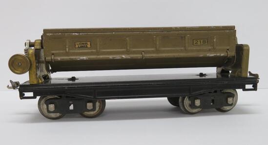 Pre War Lionel Standard Gauge, #218 Mohave dump car