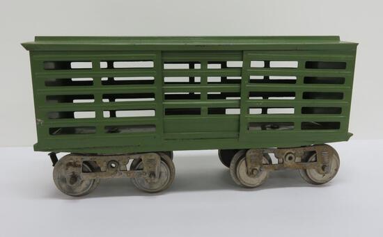 Pre War Lionel #13 stock car, stamped on bottom, standard gauge