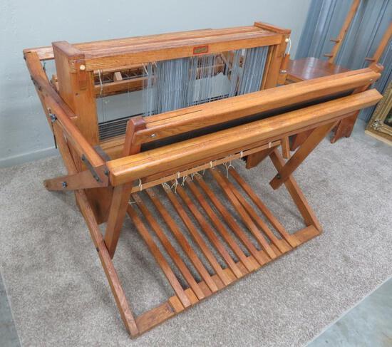 "Kessenich floor loom, 8 harness, 10 pedal, 40"""