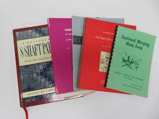 Six weaving books