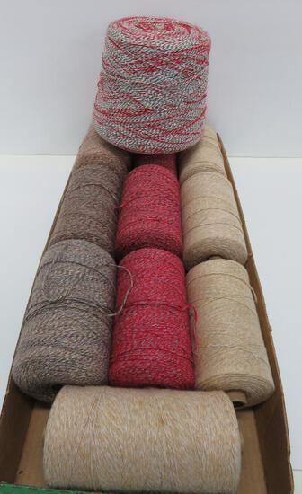 11 multi color warp cones
