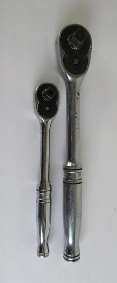 Two Snap-On ratchet drivers, S 713 and F 713