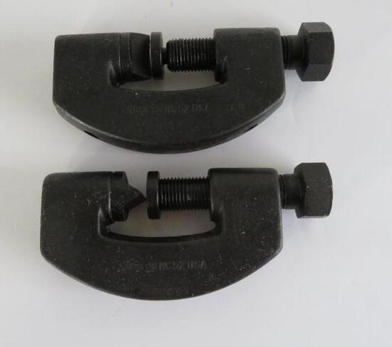 Two Snap-On NC 52, manual nut splitters