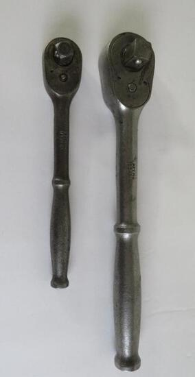 Two Snap-On ratchet drivers, Ferret F-70N and 71-10