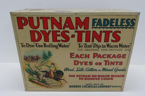 Metal Putnam Dyes-Tints cabinet