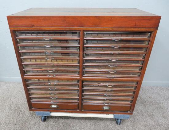 26 Drawer Spool Cabinet - neat item!
