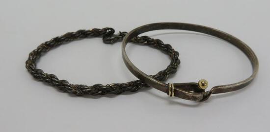Two Tiffany & Co bracelets